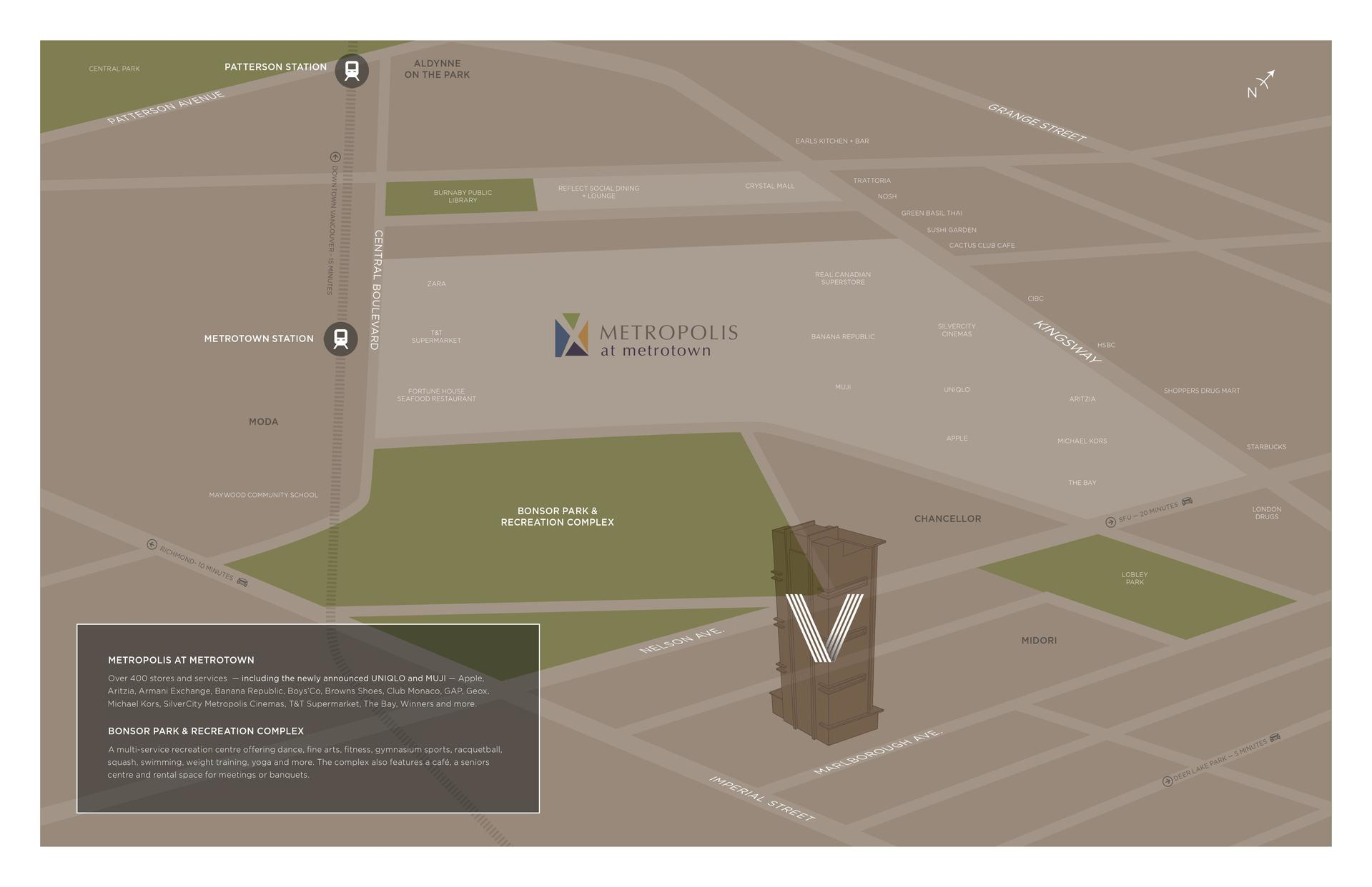 vittorio-map at 6060 Marlborough Avenue, Metrotown, Burnaby South