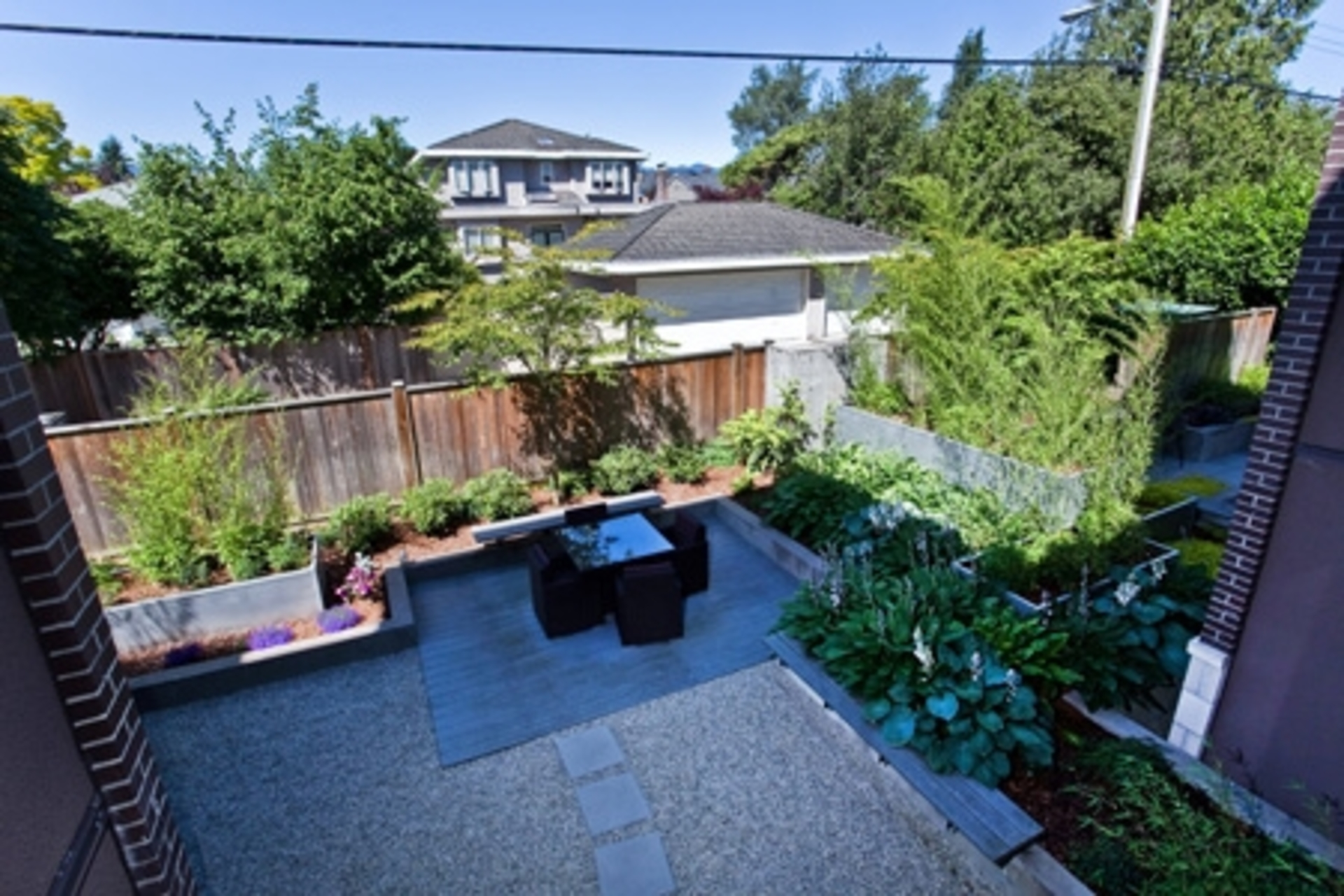 Patio at 3839 W4th, Point Grey, Vancouver West