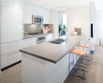 Kitchen (Showroom) at 3093 Windsor Gate, New Horizons, Coquitlam