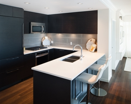 kitchen at 3093 Windsor Gate, New Horizons, Coquitlam