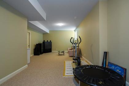 Bsmt rec room at 3756 Winsford Court, Government Road, Burnaby North
