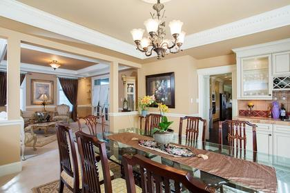 Dining room off kitchen at 3756 Winsford Court, Government Road, Burnaby North