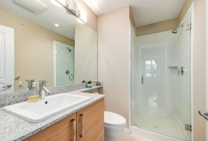 bathroom at #407 - 1150 Kensal Place, New Horizons, Coquitlam