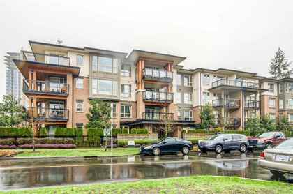 building-exterior at #407 - 1150 Kensal Place, New Horizons, Coquitlam