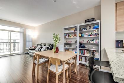 living--dining-area-1 at #407 - 1150 Kensal Place, New Horizons, Coquitlam
