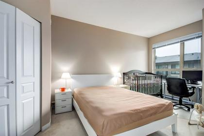 master-bdrm at #407 - 1150 Kensal Place, New Horizons, Coquitlam