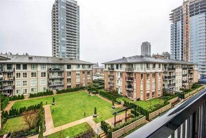 view-from-balcony at #407 - 1150 Kensal Place, New Horizons, Coquitlam
