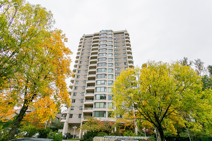 building-exterior at #1606 - 7321 Halifax Street, Simon Fraser Univer., Burnaby North