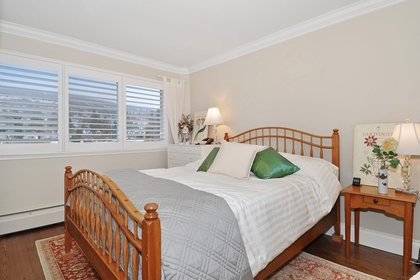 Bedroom at 603 - 150 24th, Dundarave, West Vancouver