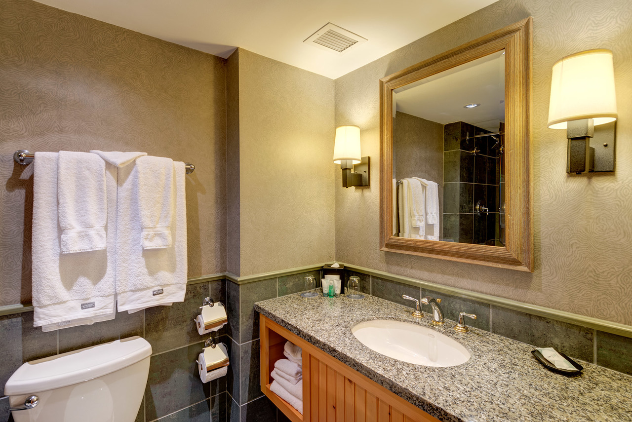 4090 Whistler Way Westin Resort and Spa Bath at 919 - 4090 Whistler Way, Whistler Village, Whistler