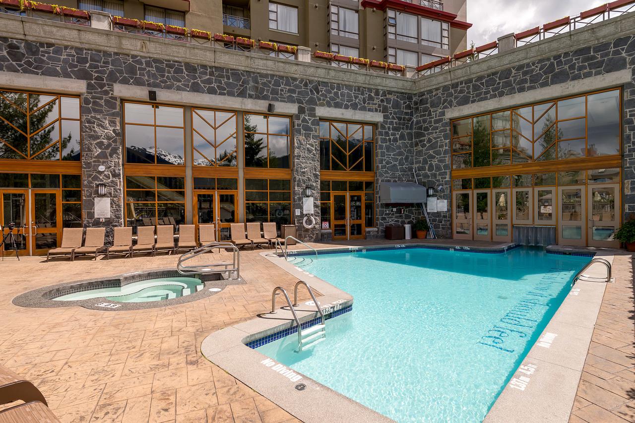 4090 Whistler Way Westin Resort and Spa Pool at 919 - 4090 Whistler Way, Whistler Village, Whistler
