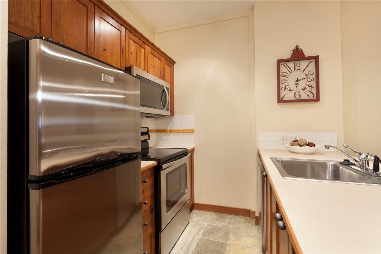 4660 216 Blackcomb Way Kitchen at 216 - 4660 Blackcomb Way, Benchlands, Whistler