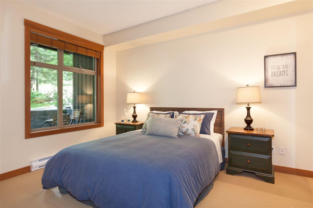 4660 216 Blackcomb Way Master Bedroom at 216 - 4660 Blackcomb Way, Benchlands, Whistler