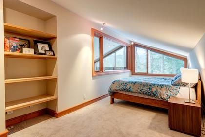 Master Bedroom at 9287 Emerald Drive, Emerald Estates, Whistler