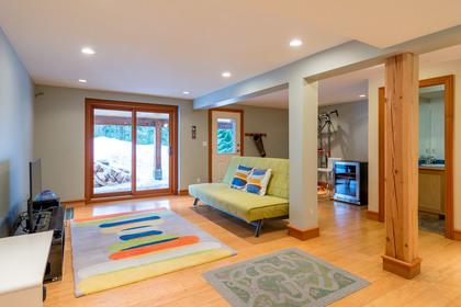 Rec Room at 9287 Emerald Drive, Emerald Estates, Whistler