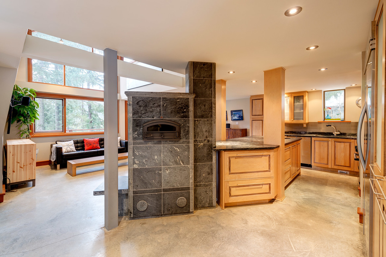 Kitchen at 9287 Emerald Drive, Emerald Estates, Whistler