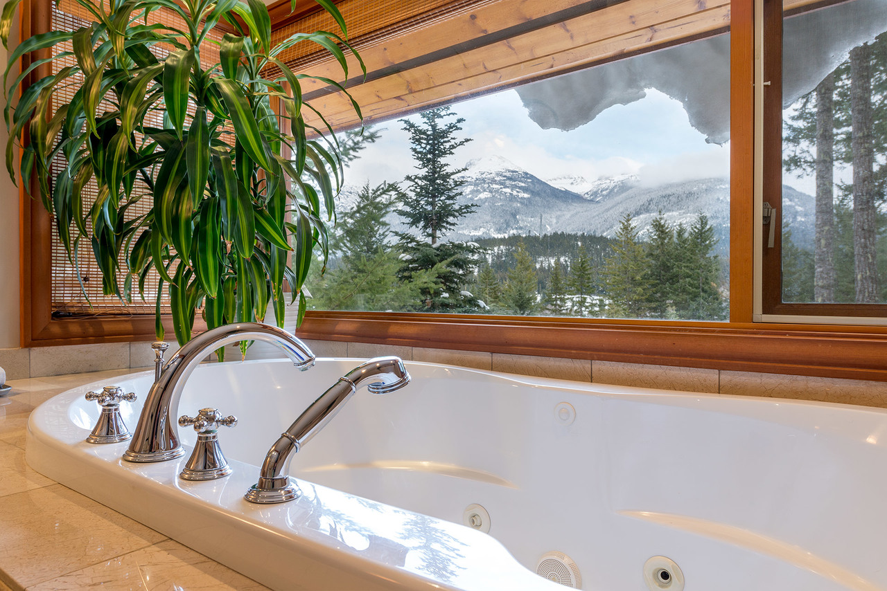 Master Bath at 9287 Emerald Drive, Emerald Estates, Whistler