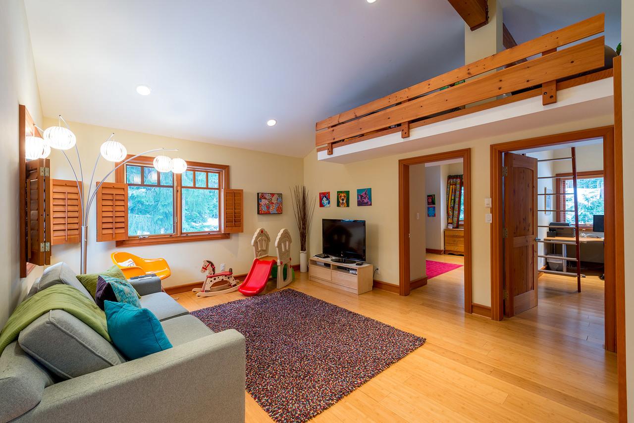 Upper Den at 9287 Emerald Drive, Emerald Estates, Whistler