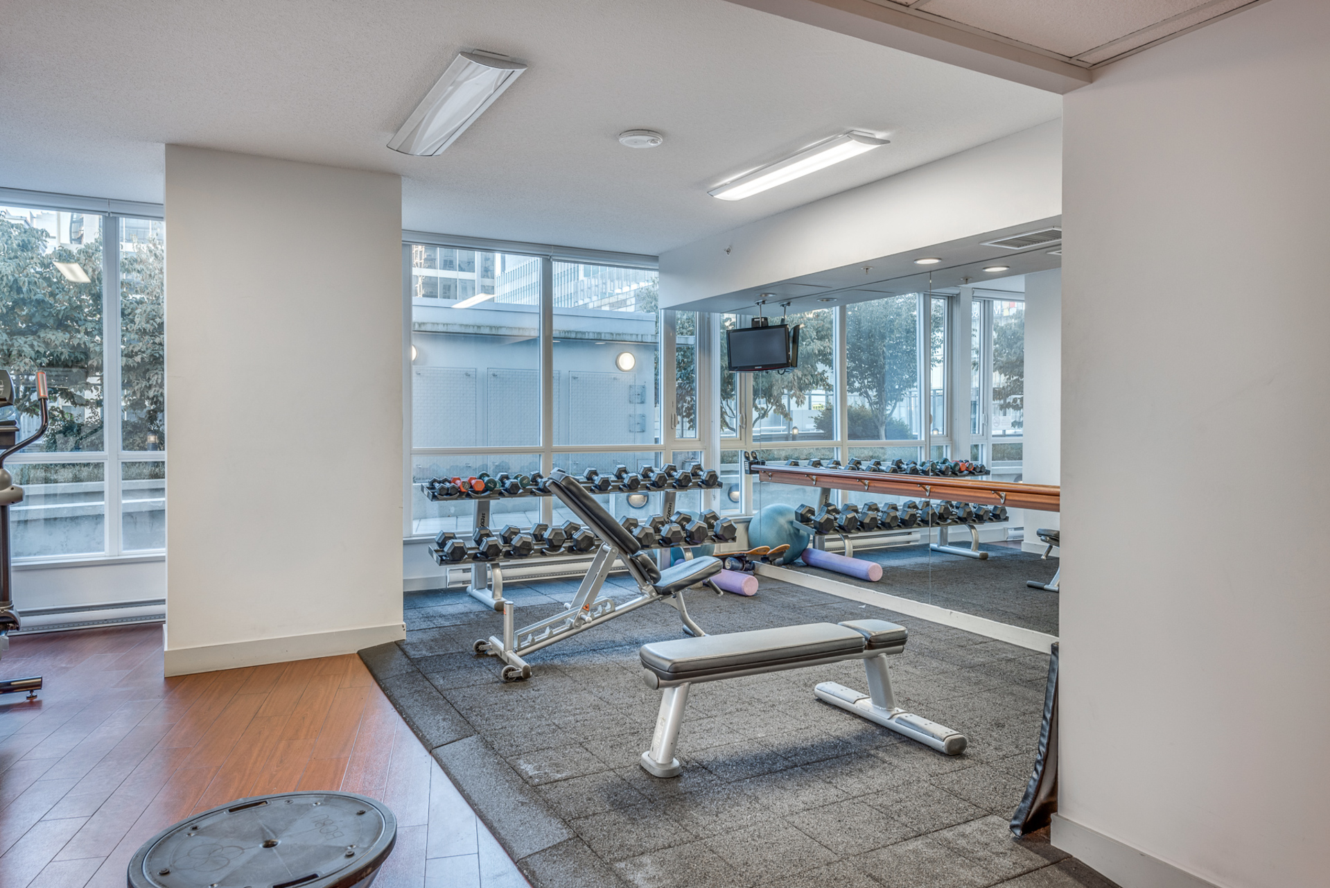 gym-1 at 3009 - 833 Seymour, Downtown VW, Vancouver West