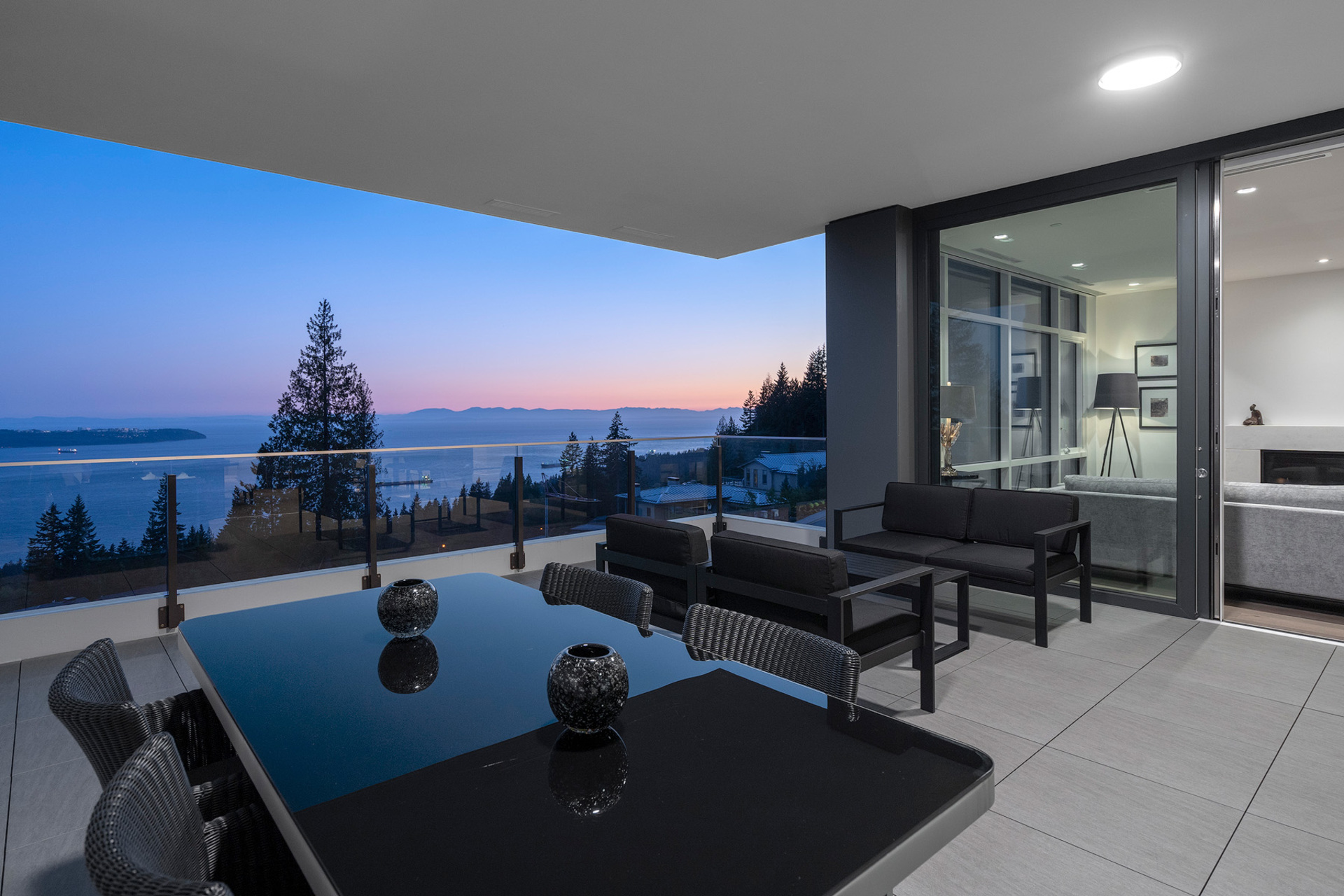 balcony-3 at 402 - 2958 Burfield Place, Cypress Park Estates, West Vancouver