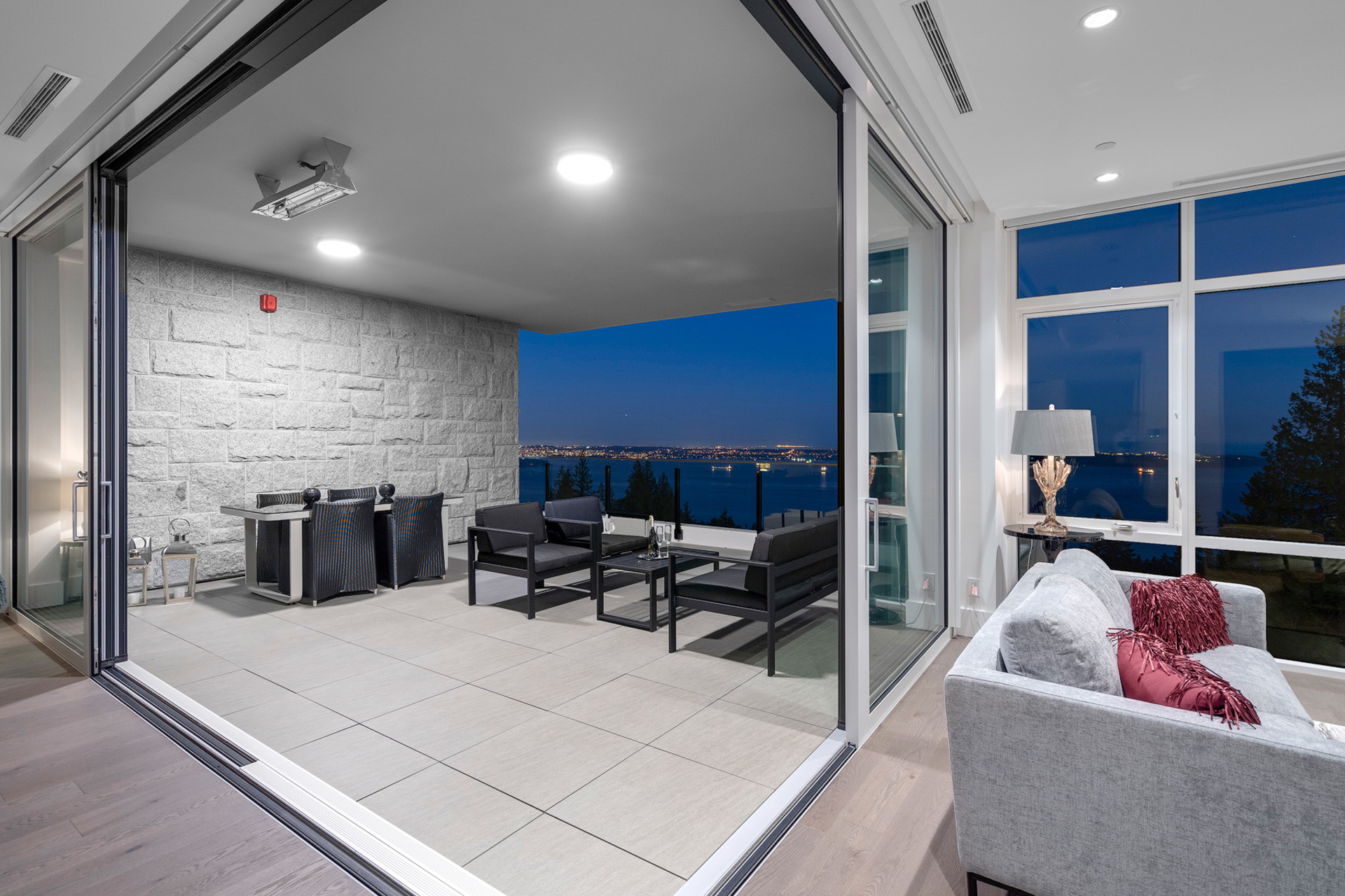 balcony at 402 - 2958 Burfield Place, Cypress Park Estates, West Vancouver