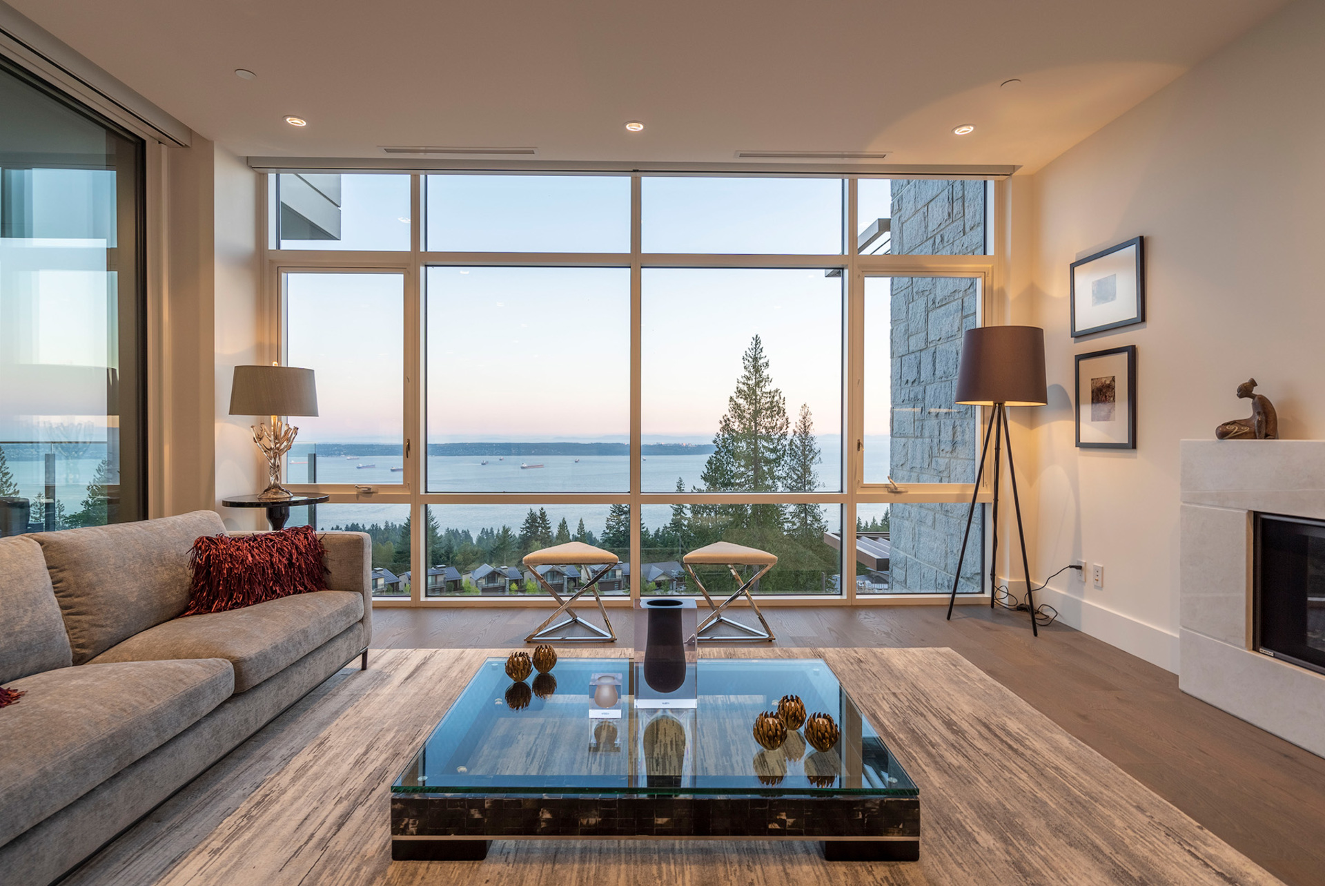 living-day at 402 - 2958 Burfield Place, Cypress Park Estates, West Vancouver