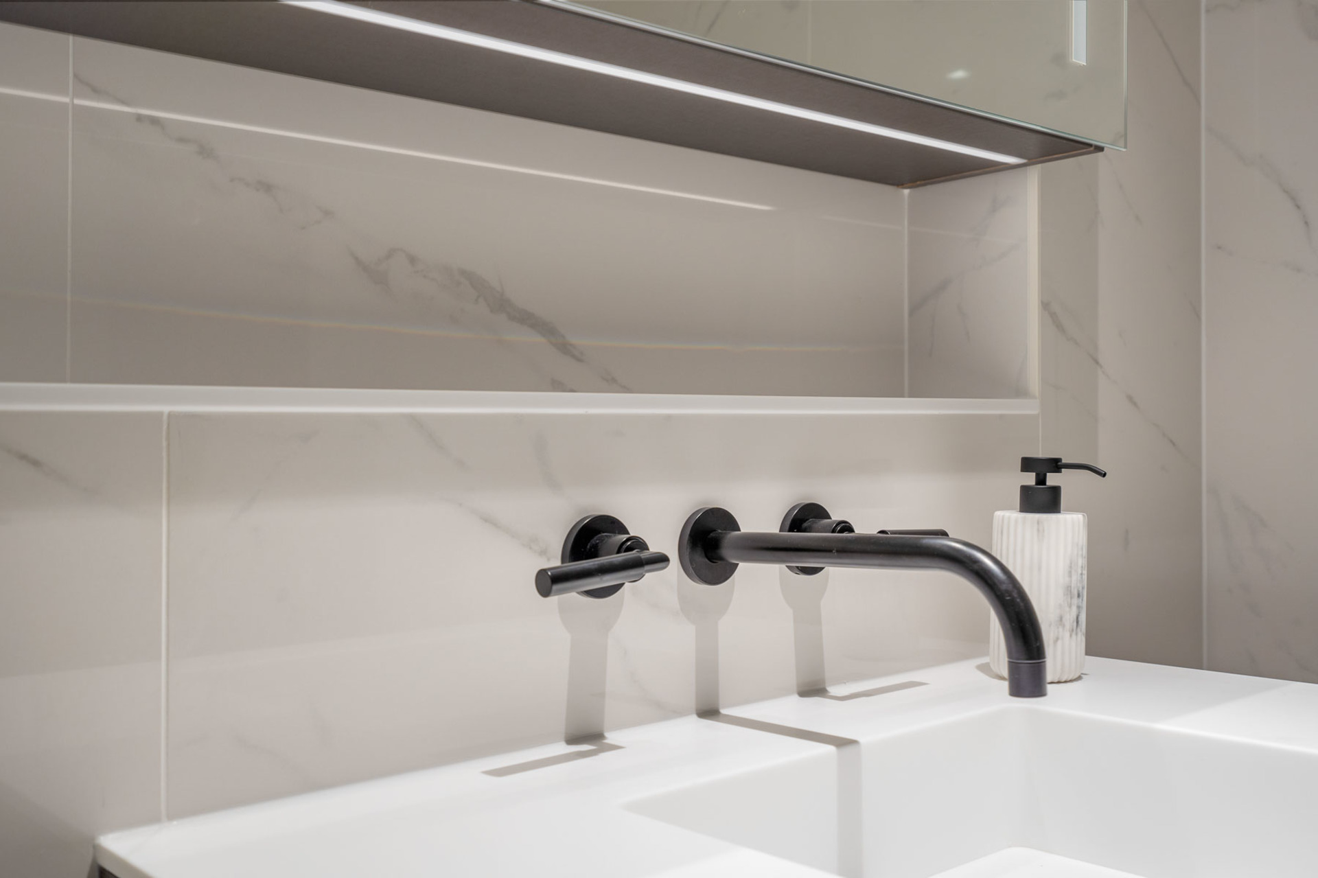 ensuite-close-up at 1304 - 620 Cardero, Coal Harbour, Vancouver West