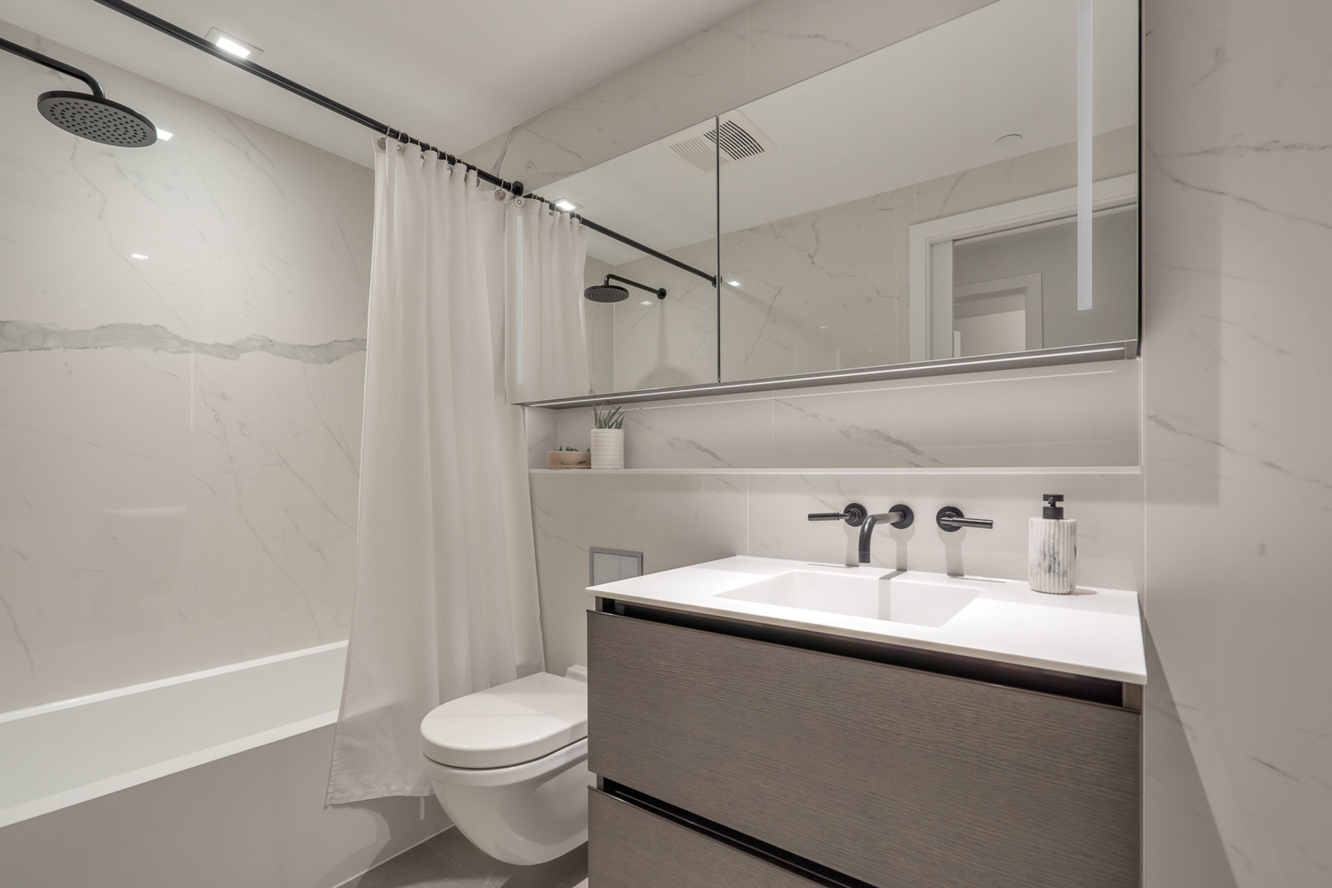 ensuite at 1304 - 620 Cardero, Coal Harbour, Vancouver West