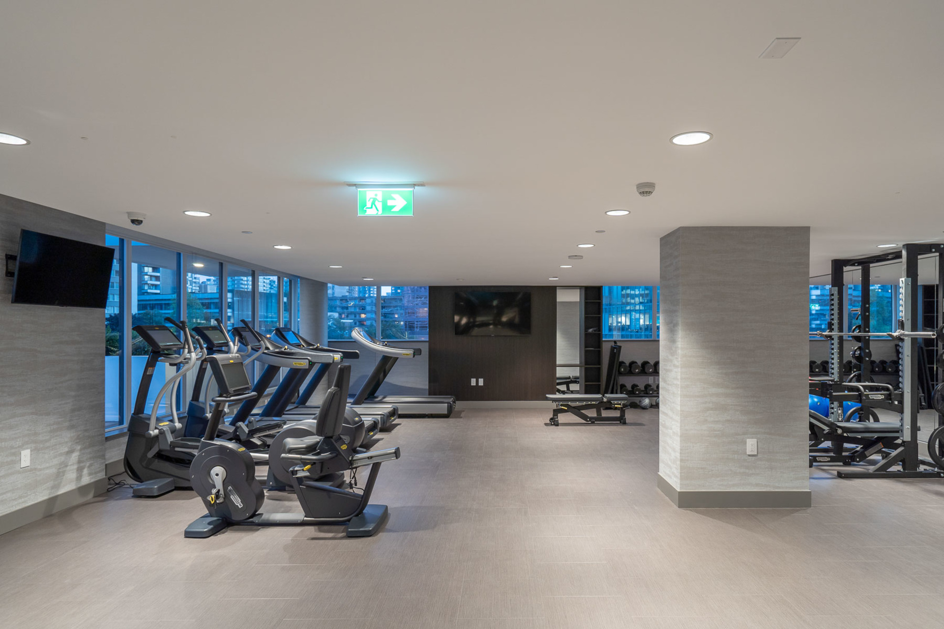 gym-2 at 1304 - 620 Cardero, Coal Harbour, Vancouver West