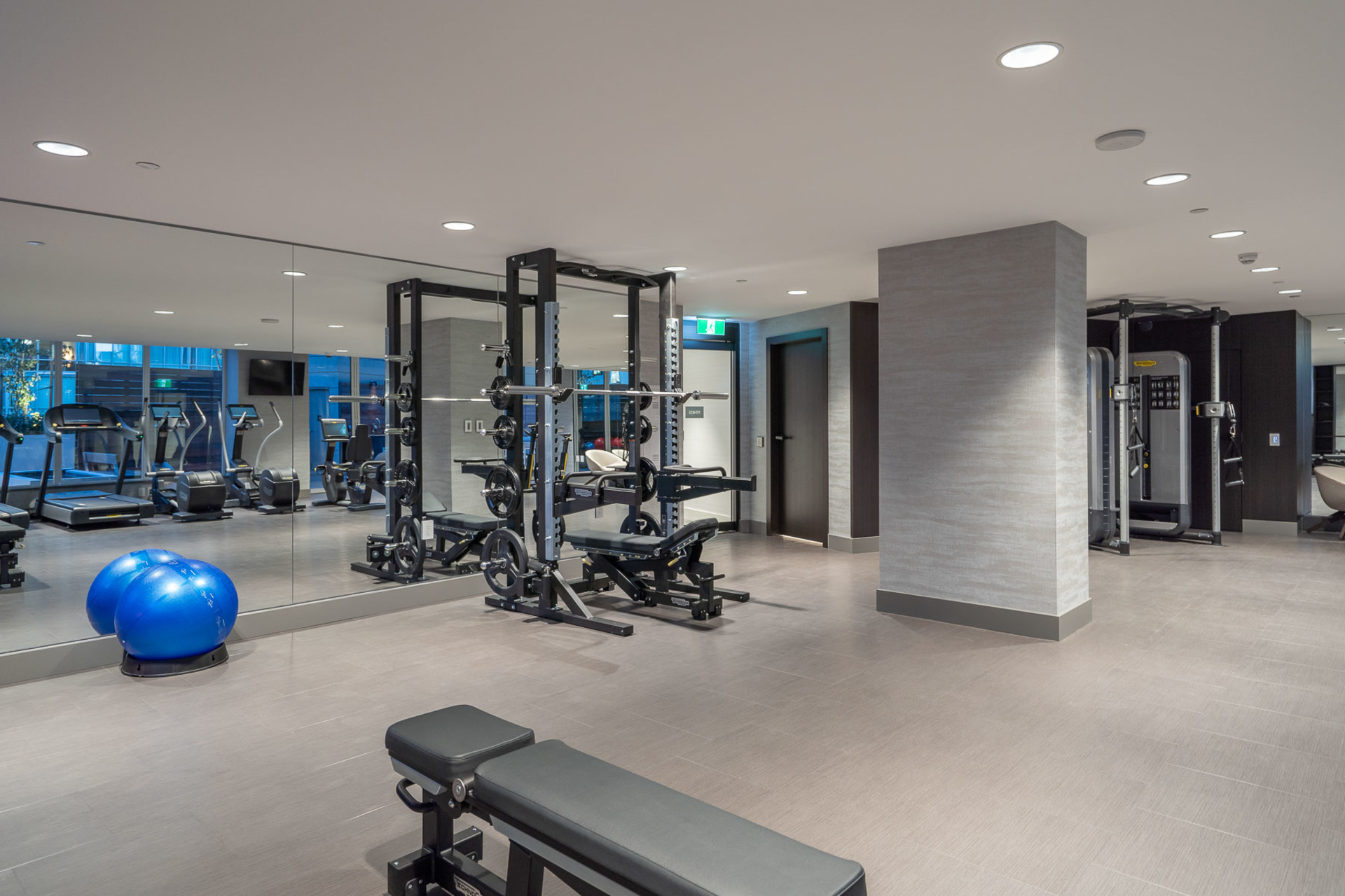 gym at 1304 - 620 Cardero, Coal Harbour, Vancouver West