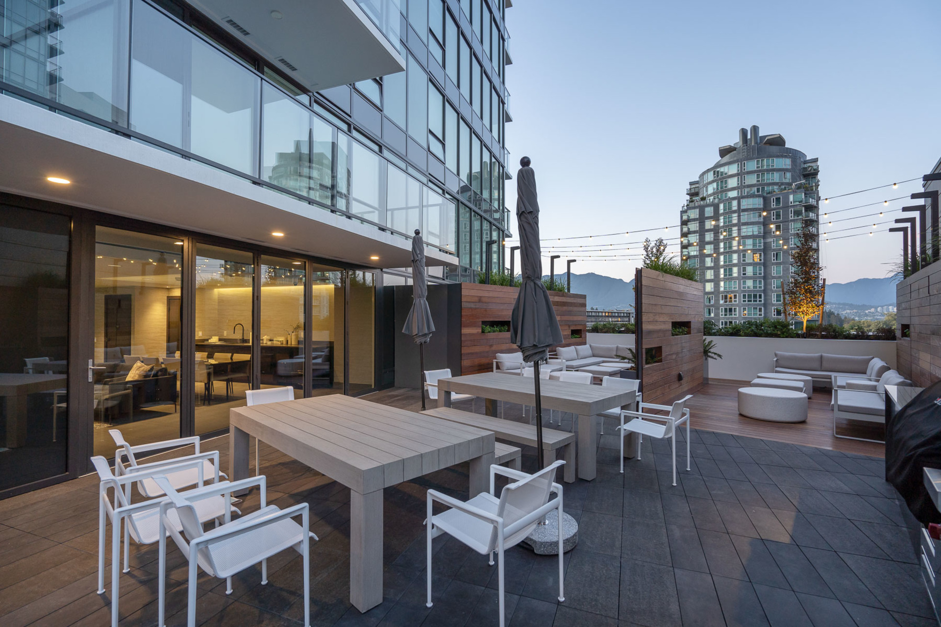 outdoor-area at 1304 - 620 Cardero, Coal Harbour, Vancouver West