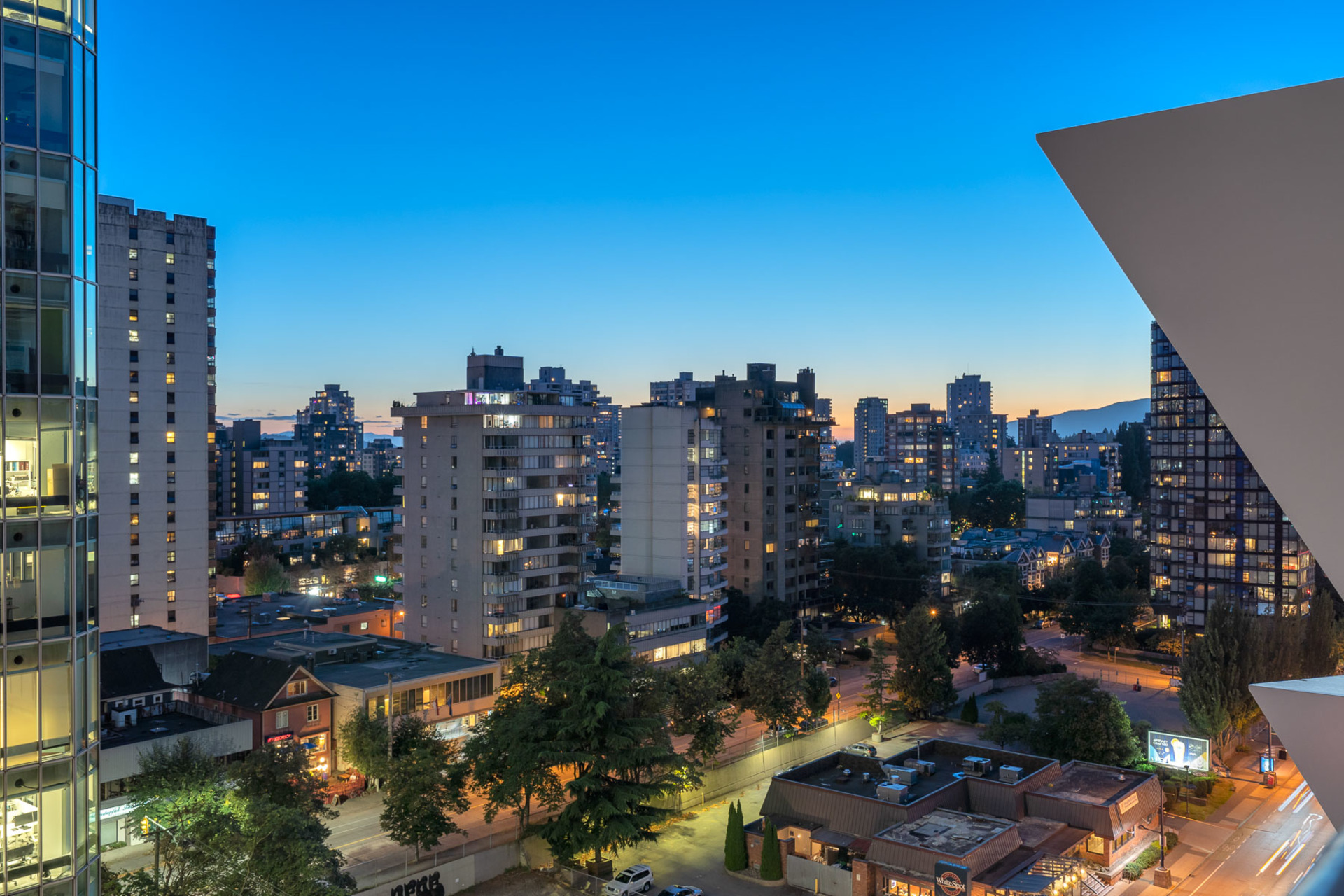 view-3 at 1304 - 620 Cardero, Coal Harbour, Vancouver West