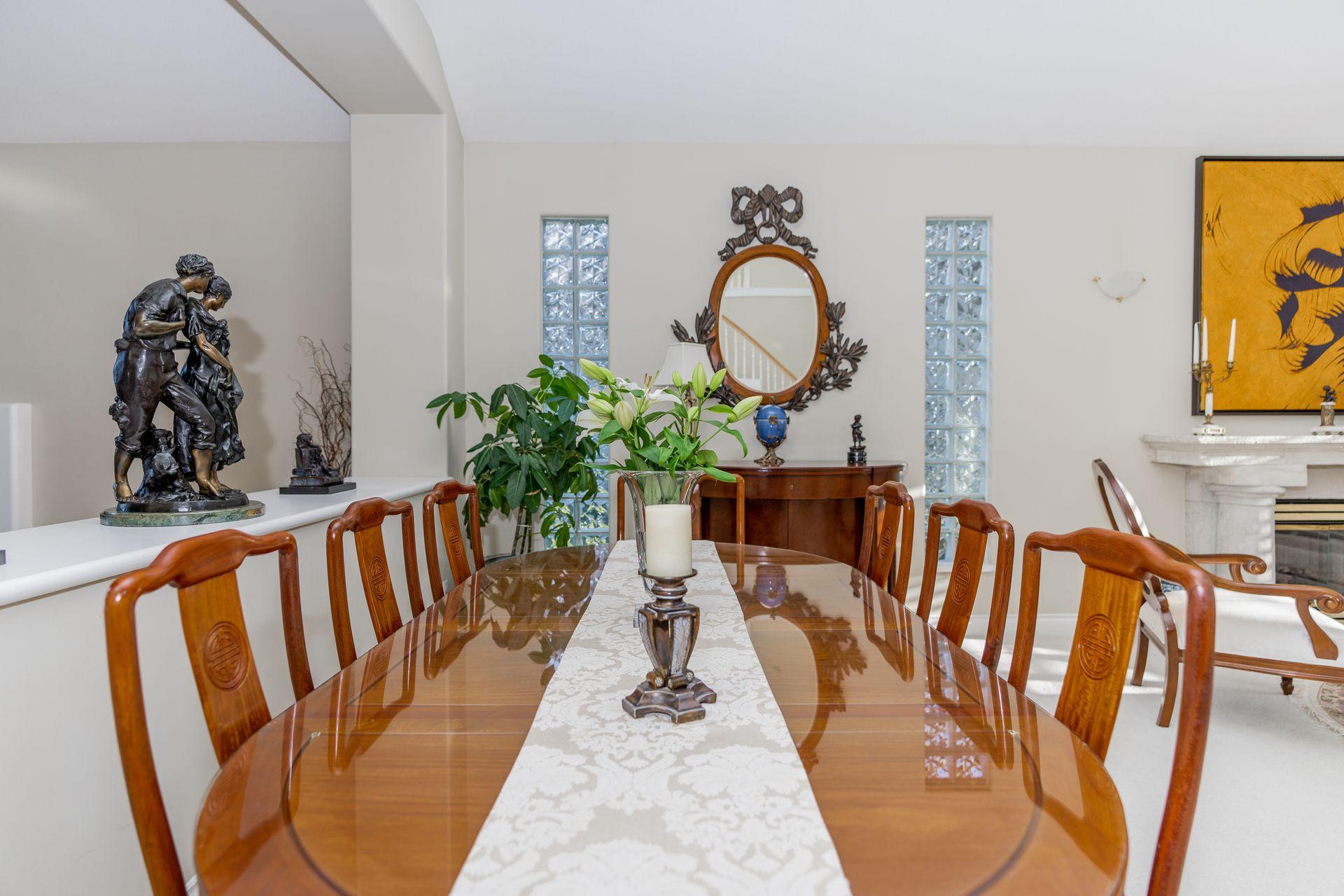 Dining Room at 10 - 5130 Ashfeild Road, Upper Caulfeild, West Vancouver