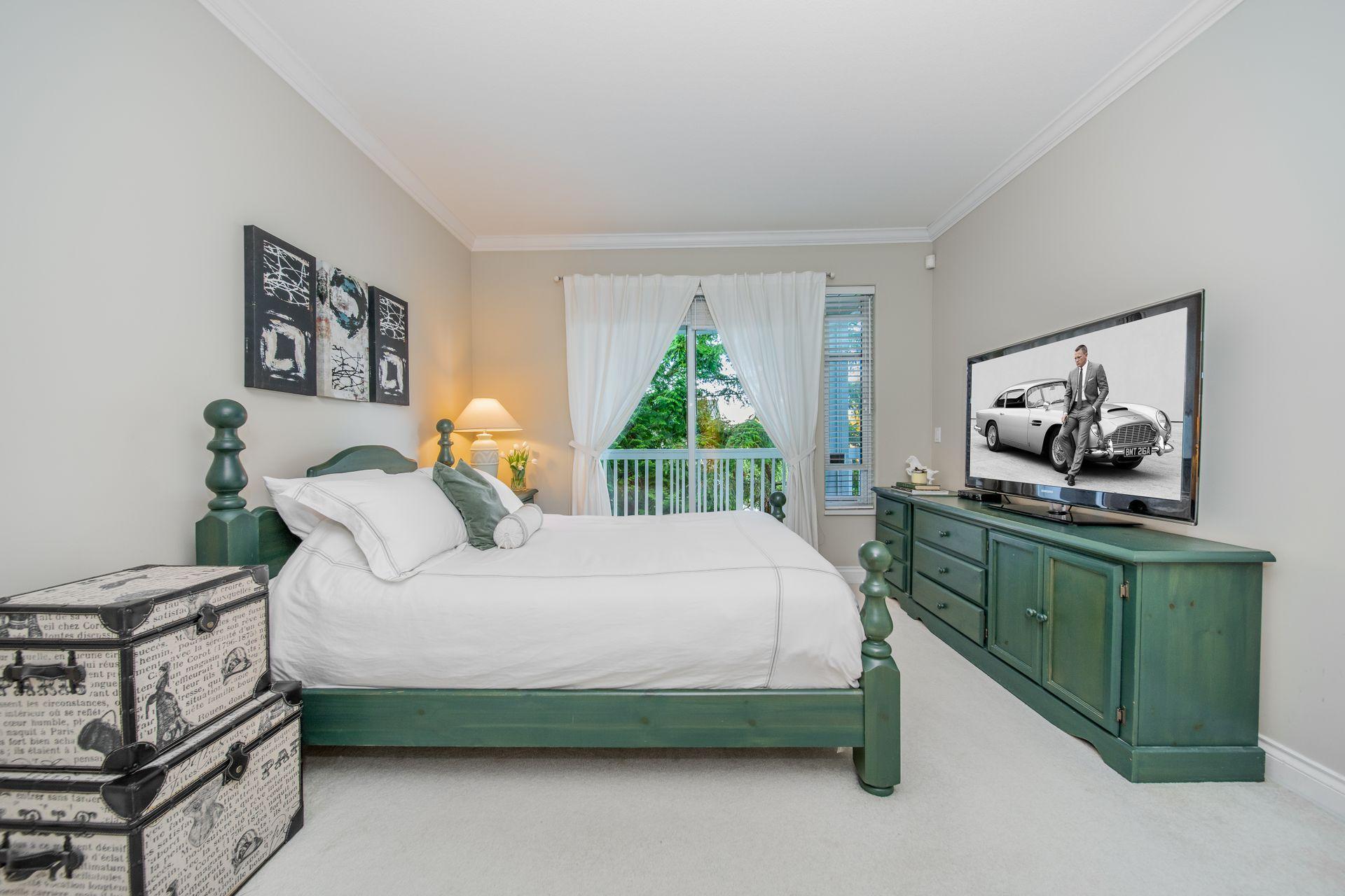 Master Bedroom at 10 - 5130 Ashfeild Road, Upper Caulfeild, West Vancouver