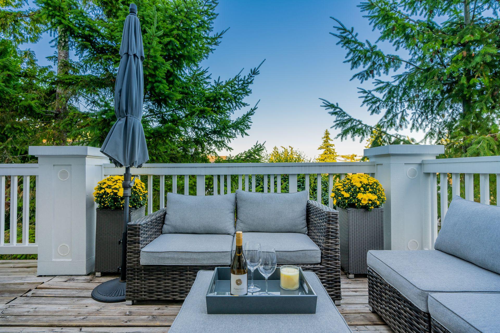 Beautiful Outdoor Space at 10 - 5130 Ashfeild Road, Upper Caulfeild, West Vancouver
