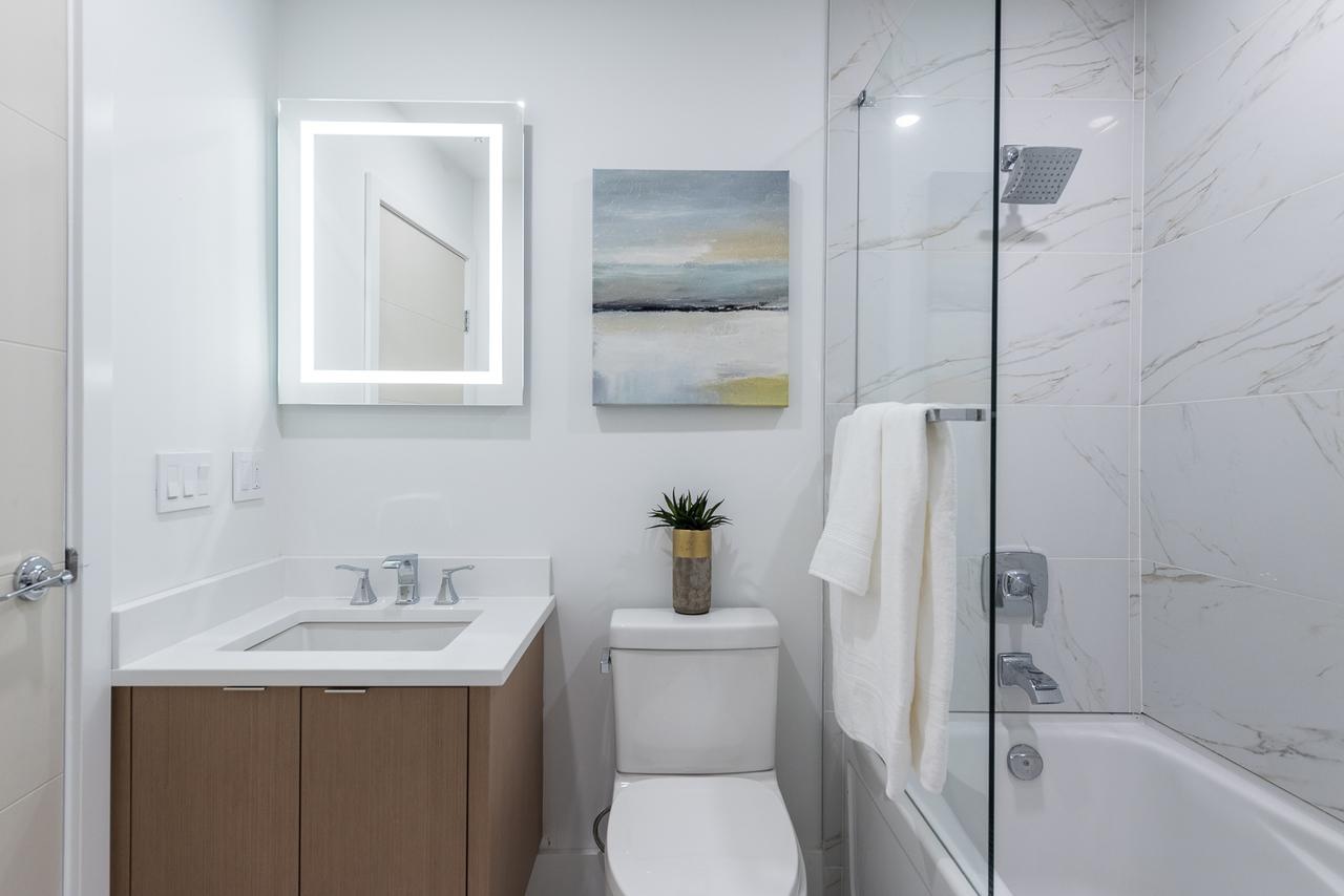 bathroom at 508 - 1239 Georgia, Coal Harbour, Vancouver West