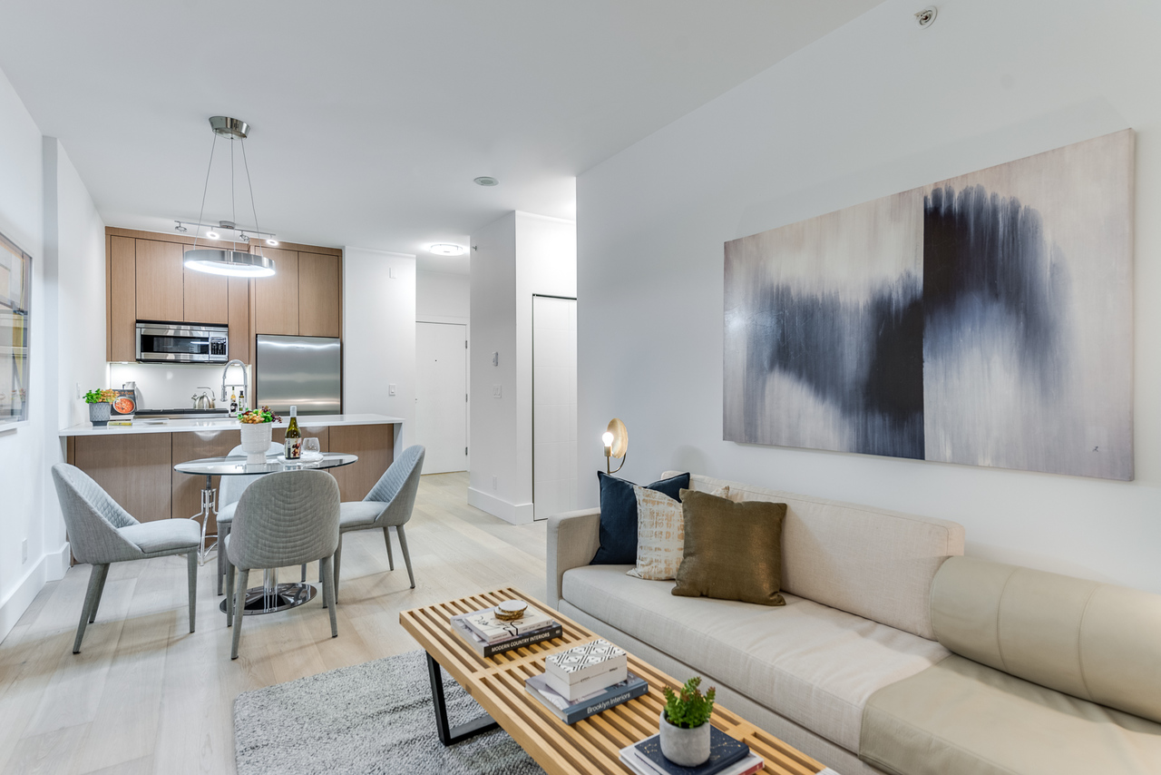 living-3 at 508 - 1239 Georgia, Coal Harbour, Vancouver West