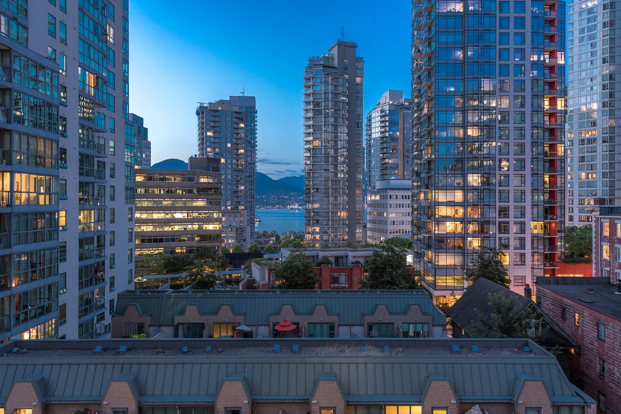 view-2 at 508 - 1239 Georgia, Coal Harbour, Vancouver West