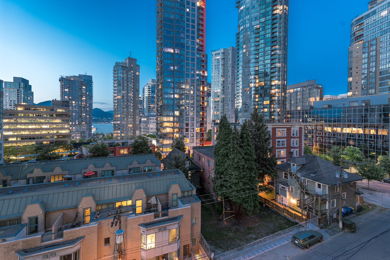 view-3 at 508 - 1239 Georgia, Coal Harbour, Vancouver West