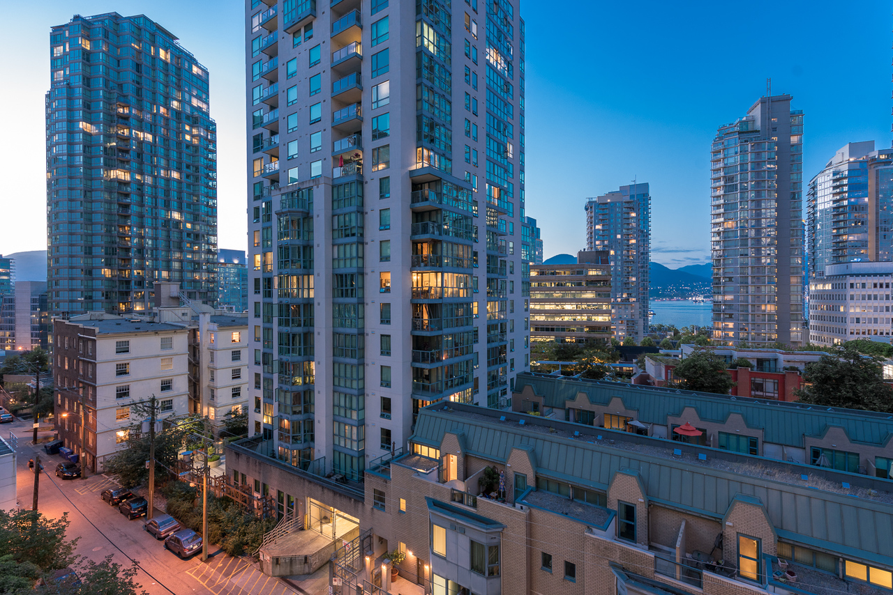 view at 508 - 1239 Georgia, Coal Harbour, Vancouver West