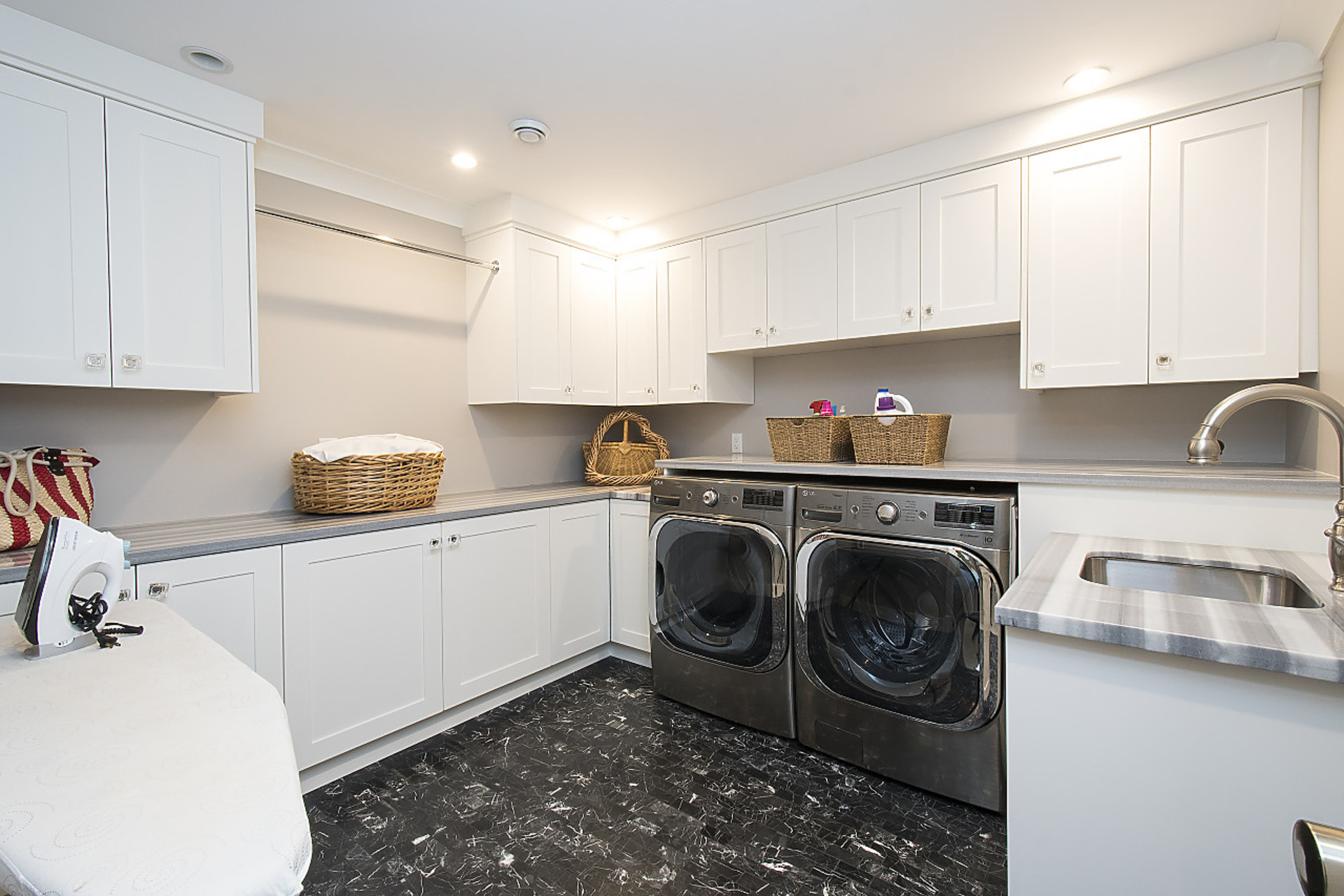 Laundry Room at 4710 Piccadilly South, Olde Caulfeild, West Vancouver