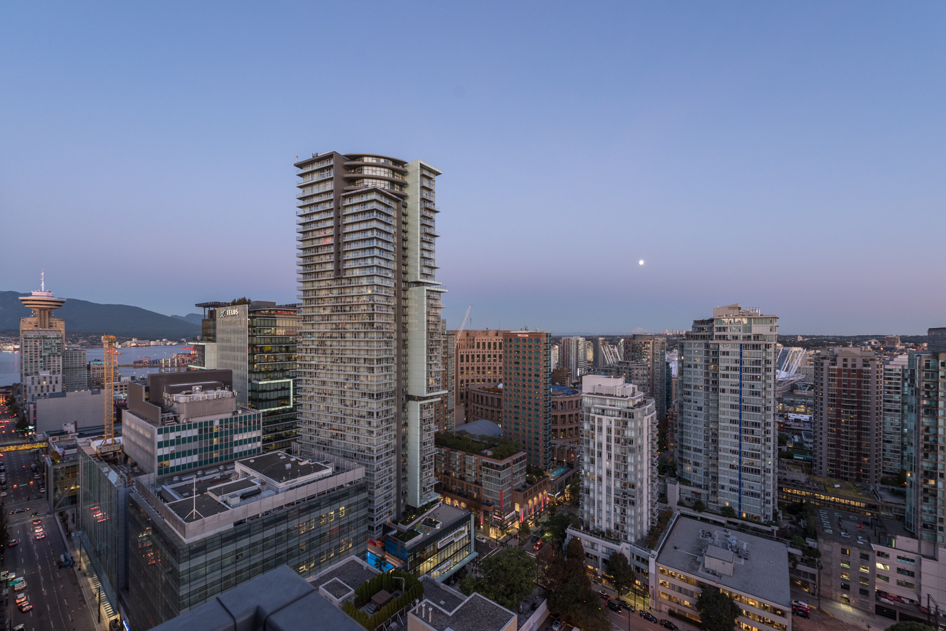 view at 2704 - 833 Seymour, Downtown VW, Vancouver West