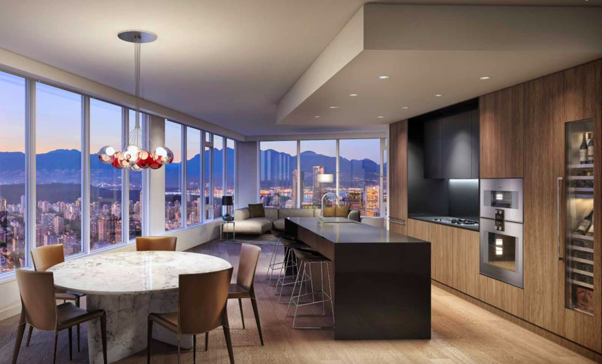 Unit Renderings at 4306 - 1289 Hornby Street, Downtown VW, Vancouver West