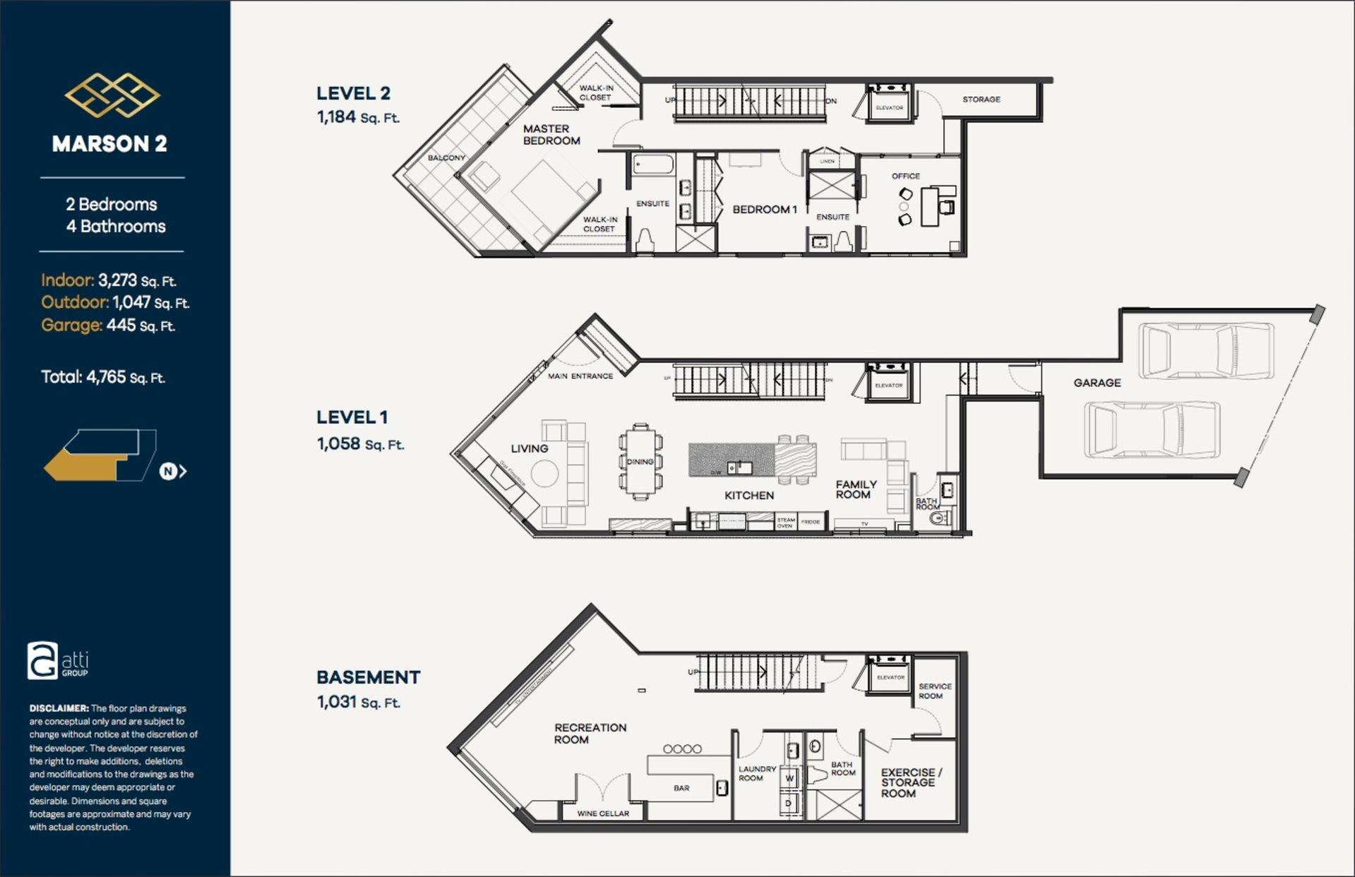 Floor Plan at 2 - 2173 Argyle, Dundarave, West Vancouver