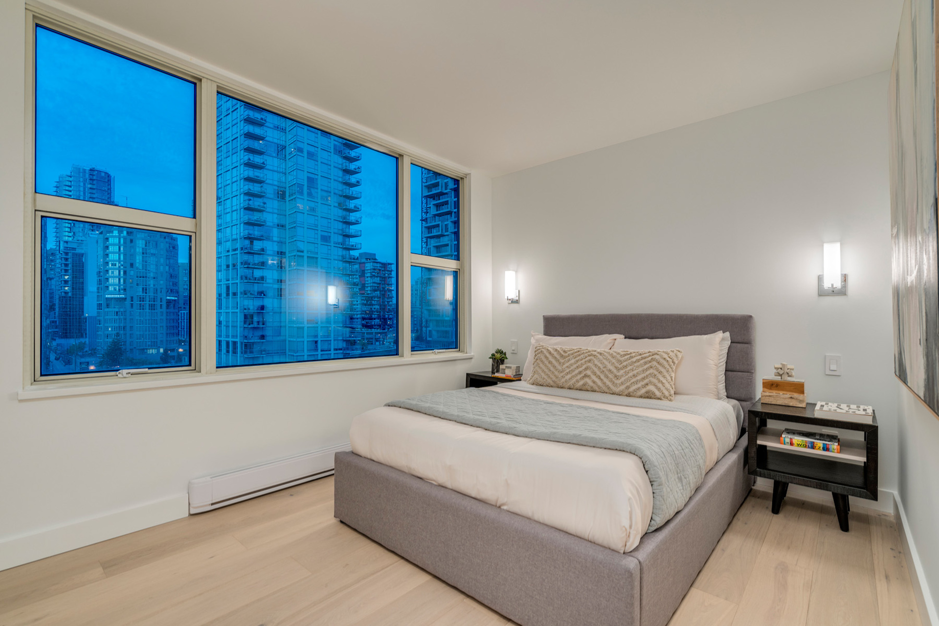 2nd-bedroom at 1508 - 1500 Hornby Street, Beach Avenue, Vancouver West