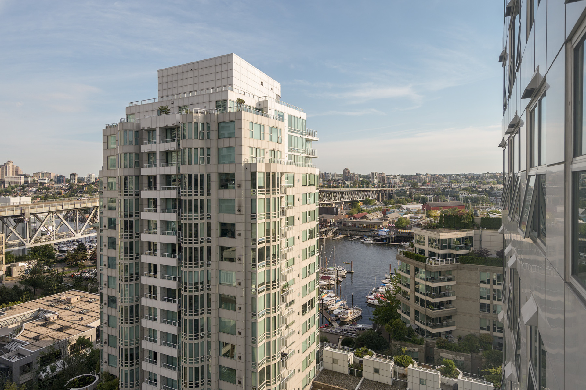 view at 1508 - 1500 Hornby Street, Beach Avenue, Vancouver West