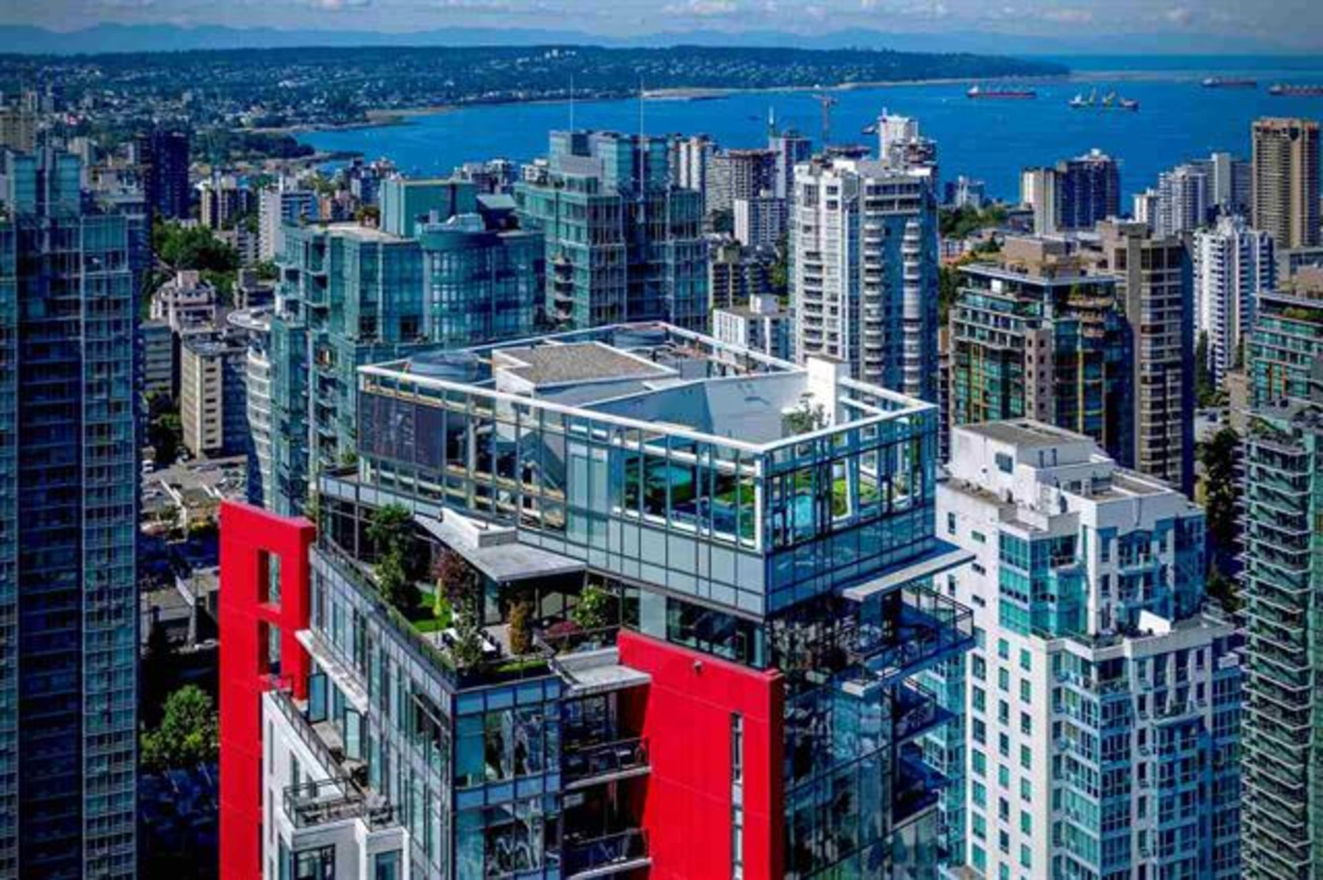 3801 - 1211 Melville Street, Coal Harbour, Vancouver West