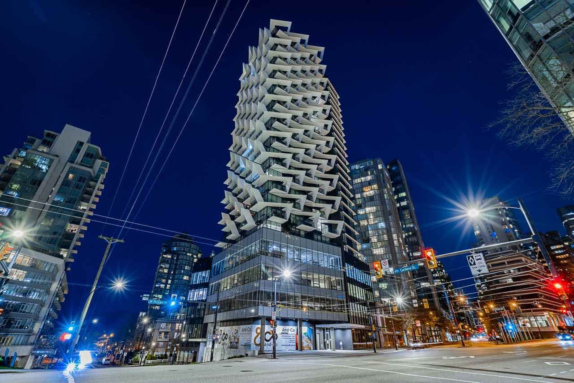 1403 - 620 Cardero Street, Coal Harbour, Vancouver West