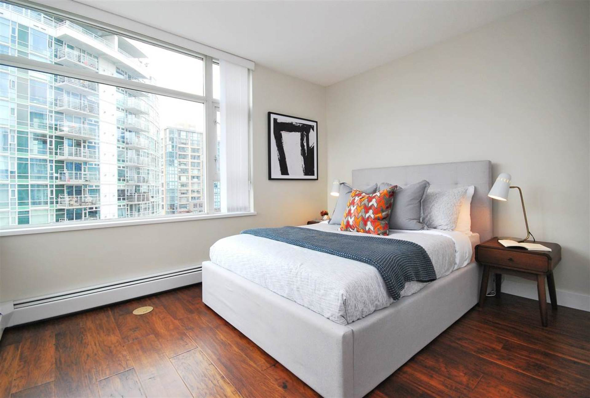 bedroom at 906 - 1199 Marinaside Crescent, Yaletown, Vancouver West