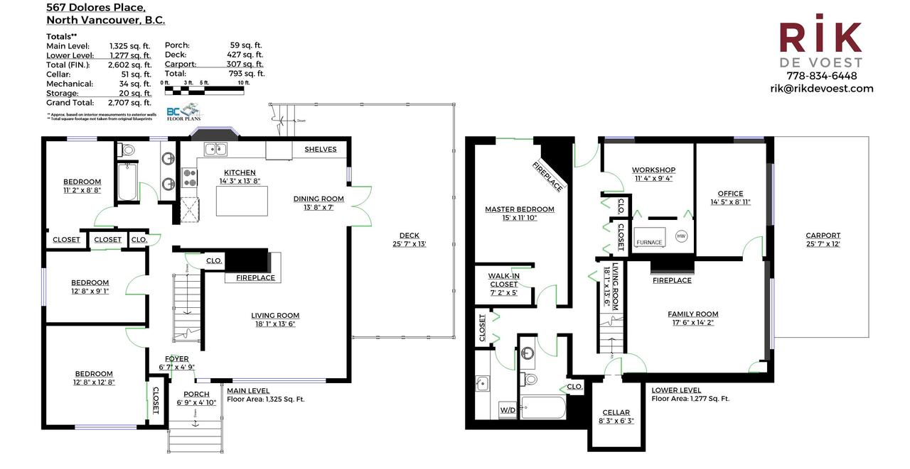 Floorplan---567-Dolores-Place-North-Vancouver---branded at 567 Dolores, Upper Delbrook, North Vancouver